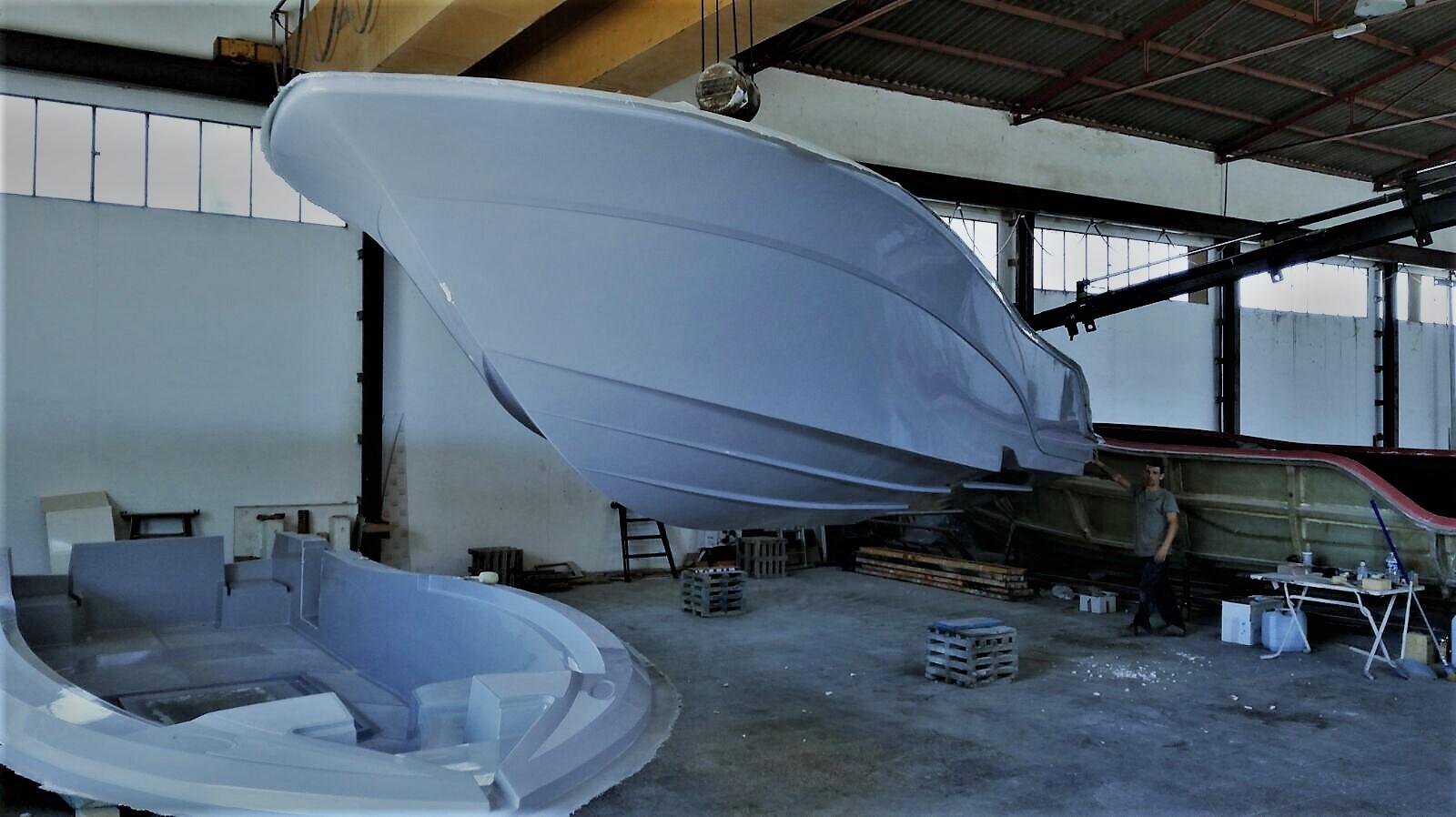 Primer barco español fabricado con materias primas dopadas con Grafeno